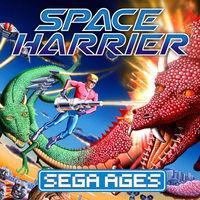 Portada oficial de Sega Ages: Space Harrier para Switch