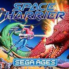 Portada oficial de de Sega Ages: Space Harrier para Switch
