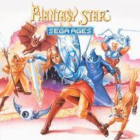Portada oficial de Sega Ages: Phantasy Star para Switch