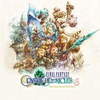 Portada oficial de Final Fantasy Crystal Chronicles Remastered Edition para PS4