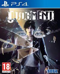 Portada oficial de Judgment para PS4