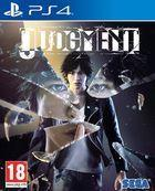 Portada oficial de de Judgment para PS4