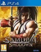 Portada oficial de de Samurai Shodown para PS4