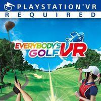 Portada oficial de Everybody's Golf VR para PS4