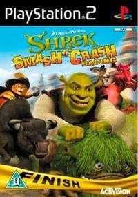 Portada oficial de Shrek Smash N' Crash Racing para PS2