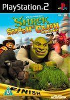 Portada oficial de de Shrek Smash N' Crash Racing para PS2