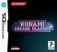 Portada oficial de Konami Arcade Classics para NDS