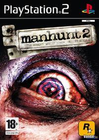 Portada oficial de Manhunt 2 para PS2