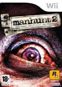 Portada oficial de Manhunt 2 para Wii