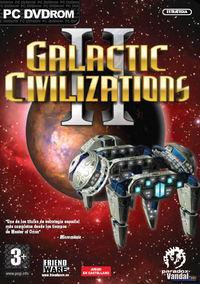 Portada oficial de Galactic Civilizations 2 para PC