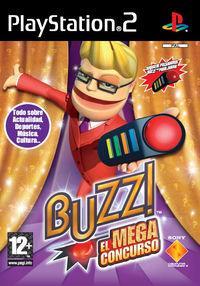 Portada oficial de Buzz! El Mega Concurso para PS2