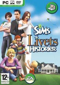 Portada oficial de Los Sims Historias de la Vida para PC