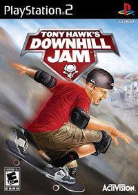 Portada oficial de Tony Hawk's Downhill Jam para PS2