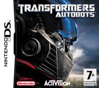 Portada oficial de Transformers: The Game Autobots & Decepticons para NDS