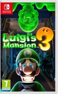 Portada oficial de Luigi's Mansion 3 para Switch