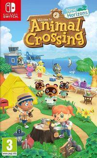 Portada oficial de Animal Crossing: New Horizons para Switch