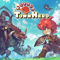 Portada oficial de Little Town Hero para Switch