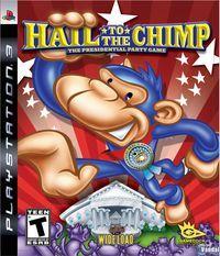 Portada oficial de Hail to the Chimp para PS3