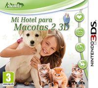 Portada oficial de Mi Hotel para Mascotas 2 3D para Nintendo 3DS