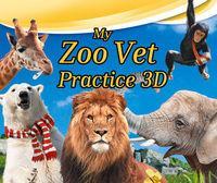 Portada oficial de My Zoo Vet Practice 3D eShop para Nintendo 3DS