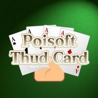 Portada oficial de Poisoft Thud Card para Switch