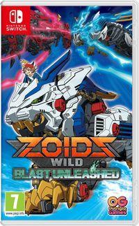 Portada oficial de Zoids Wild Blast Unleashed para Switch