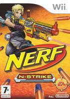 Portada oficial de de Nerf N-Strike para Wii