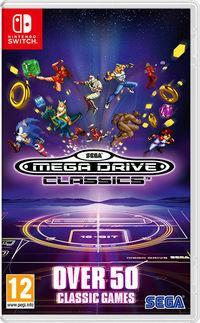 Portada oficial de Sega Mega Drive Classics para Switch