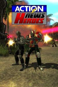 Portada oficial de Action News Heroes para Xbox One