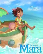 Portada oficial de de Summer in Mara para PS4