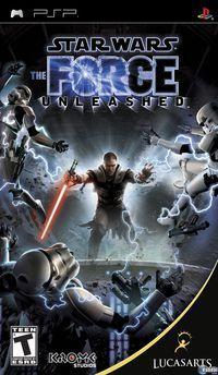 Portada oficial de Star Wars: El Poder de la Fuerza para PSP