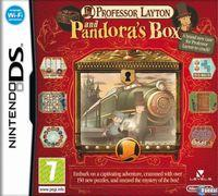 Portada oficial de Professor Layton y la Caja de Pandora para NDS
