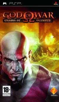 Portada oficial de God of War: Chains of Olympus para PSP