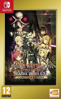 Portada oficial de Sword Art Online: Fatal Bullet Complete Edition para Switch