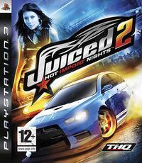 Portada oficial de Juiced 2: Hot Import Nights para PS3