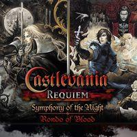 Portada oficial de Castlevania Requiem: Symphony of the Night & Rondo of Blood para PS4