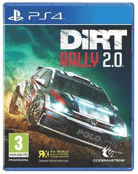 Portada oficial de DiRT Rally 2.0 para PS4
