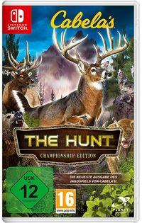 Portada oficial de Cabela's The Hunt: Championship Edition para Switch