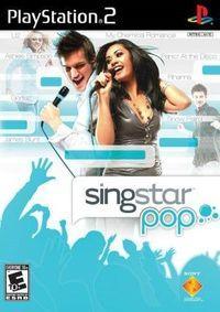 Portada oficial de SingStar Pop Hits para PS2
