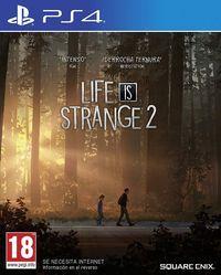 Portada oficial de Life is Strange 2 para PS4
