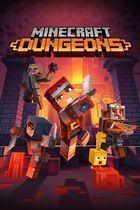 Portada oficial de de Minecraft Dungeons para PC