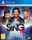 Portada oficial de de Let's Sing 11 para PS4