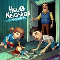Portada oficial de Hello Neighbor: Hide & Seek para PS4