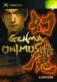 Portada oficial de Genma Onimusha para Xbox
