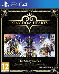 Portada oficial de Kingdom Hearts –The Story So Far– para PS4