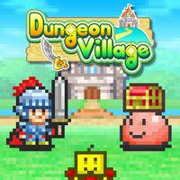 Portada oficial de Dungeon Village para Switch