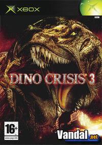 Portada oficial de Dino Crisis 3 para Xbox