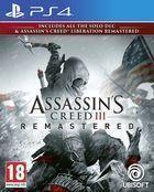 Portada oficial de de Assassin's Creed III Remastered para PS4