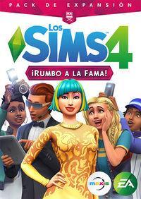 Portada oficial de Los Sims 4: ¡Rumbo a la fama! para PC