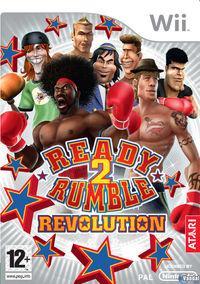 Portada oficial de Ready 2 Rumble: Revolution para Wii